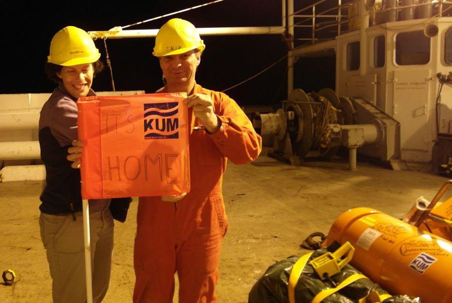 """""""It's KUMing home"""" – Est-ce eux qui ont dit aux dockers que le Marion Dufresne rentrait au port ?"""