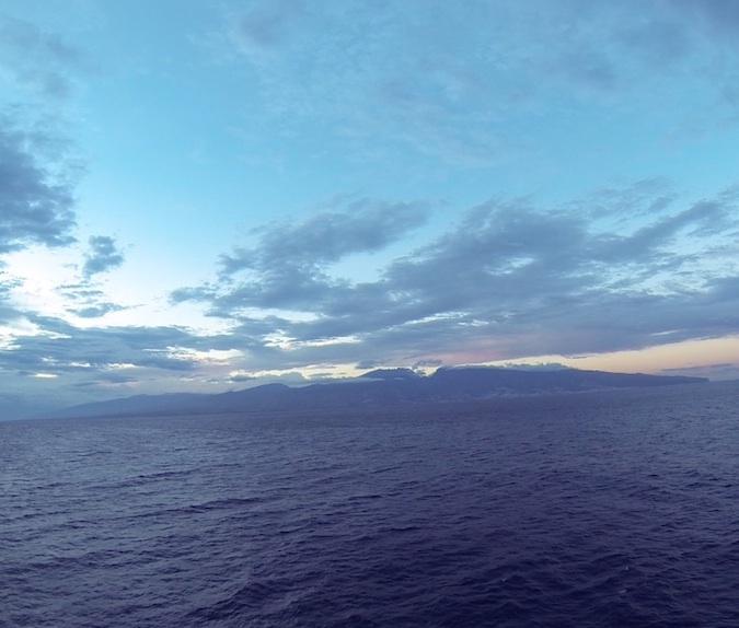 Retour à La Réunion, accompagnés par le Marion Dufresne